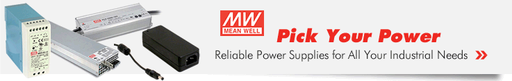 Mean Well Reliable Power Supplies at Allied