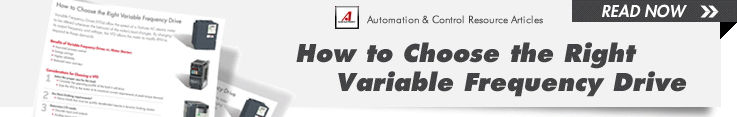 Variable Frequency Drives Automation & Control Resource Articles