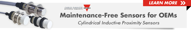 Carlo Gavazzi Cylindrical Inductive Proximity Sensors from Allied Electronics