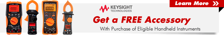 Keysight Accessory Promo