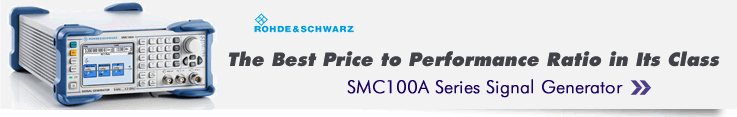 Rohde & Schwarz SMC100A Series Signal Generator Available at Allied